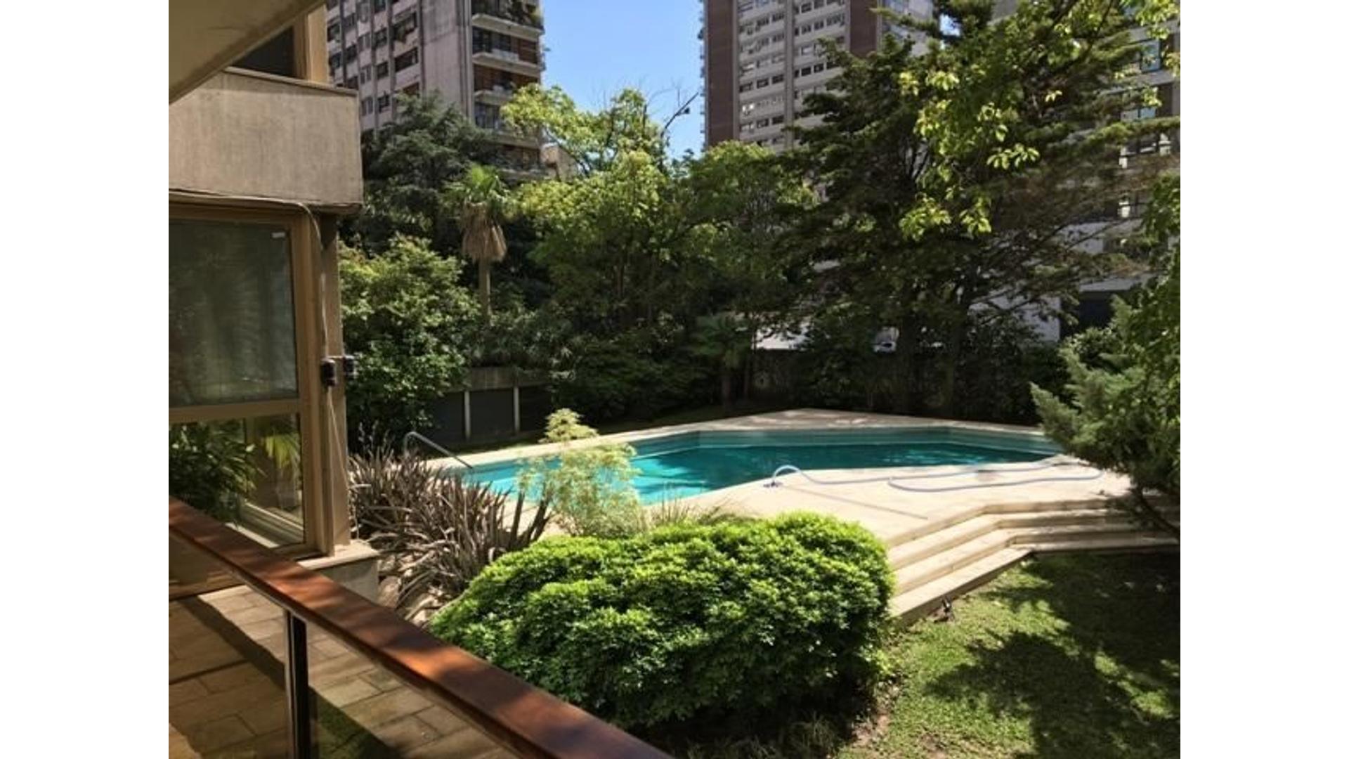 Zabala y Arribeños - Torre de Categ. con Exclusiva vista a jardines - como una casa!! Zona embajadas