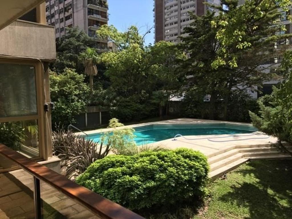 Zabala y Arribeños Torre de Categ. con Exclusiva vista a jardines, como una casa!!Zona embajadas