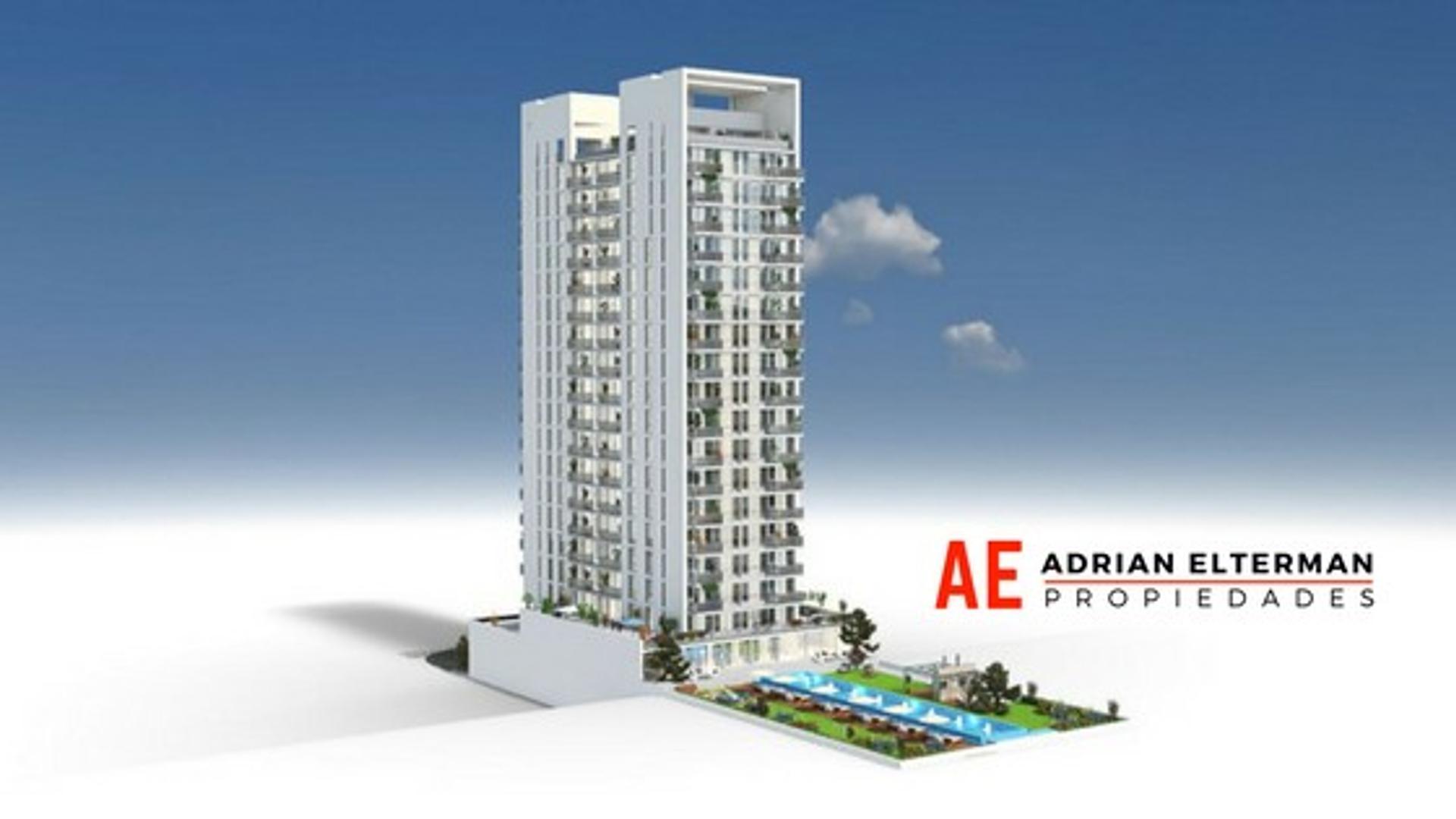 Impactante Torre en Almagro, Amenities premium. 1 ambiente. Entrega 2020