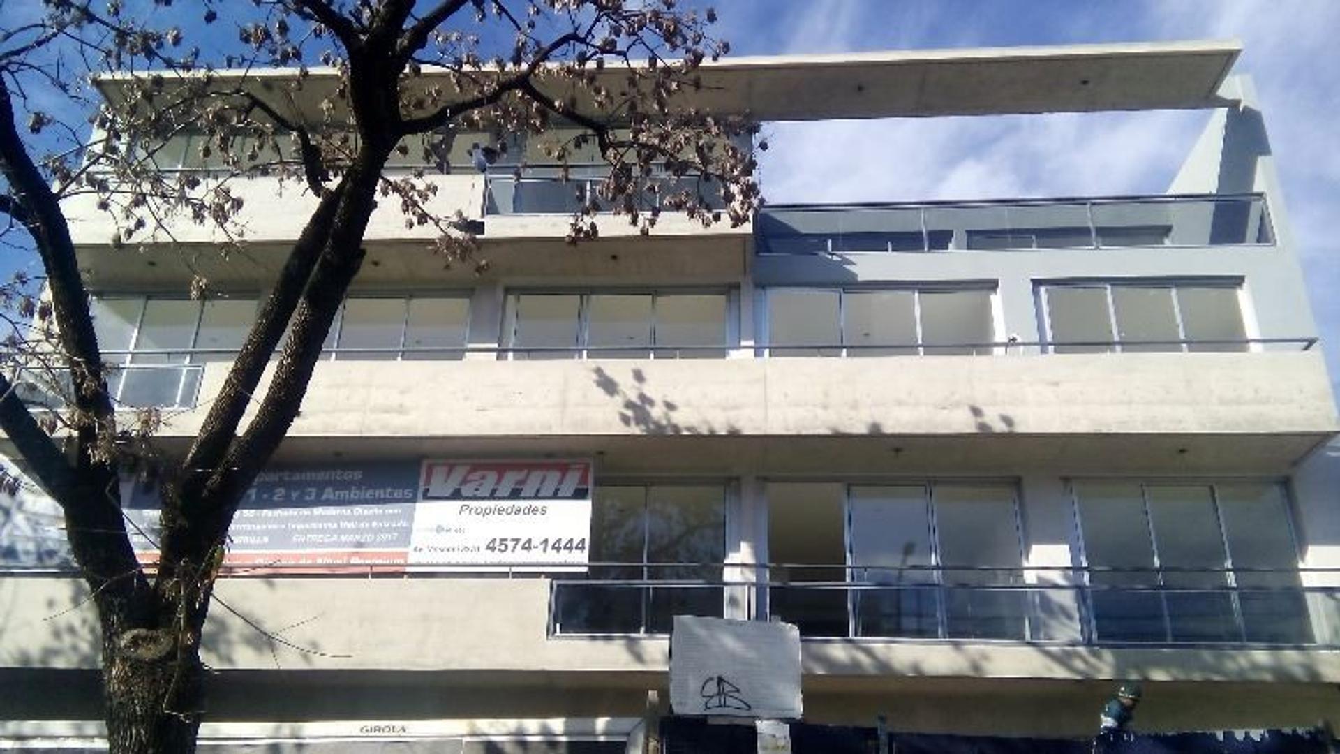 Departamento en Venta  2 Ambientes a estrenar excelente construccion y ubicacion Coch Opc SUM