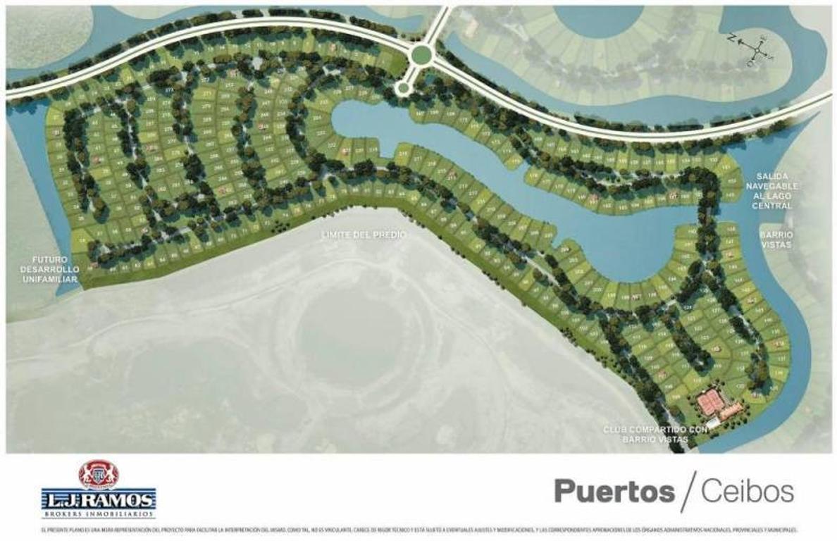 PUERTOS - BARRIO CEIBOS - RAMAL ESCOBAR KM 45 - LOTE 118 - 100