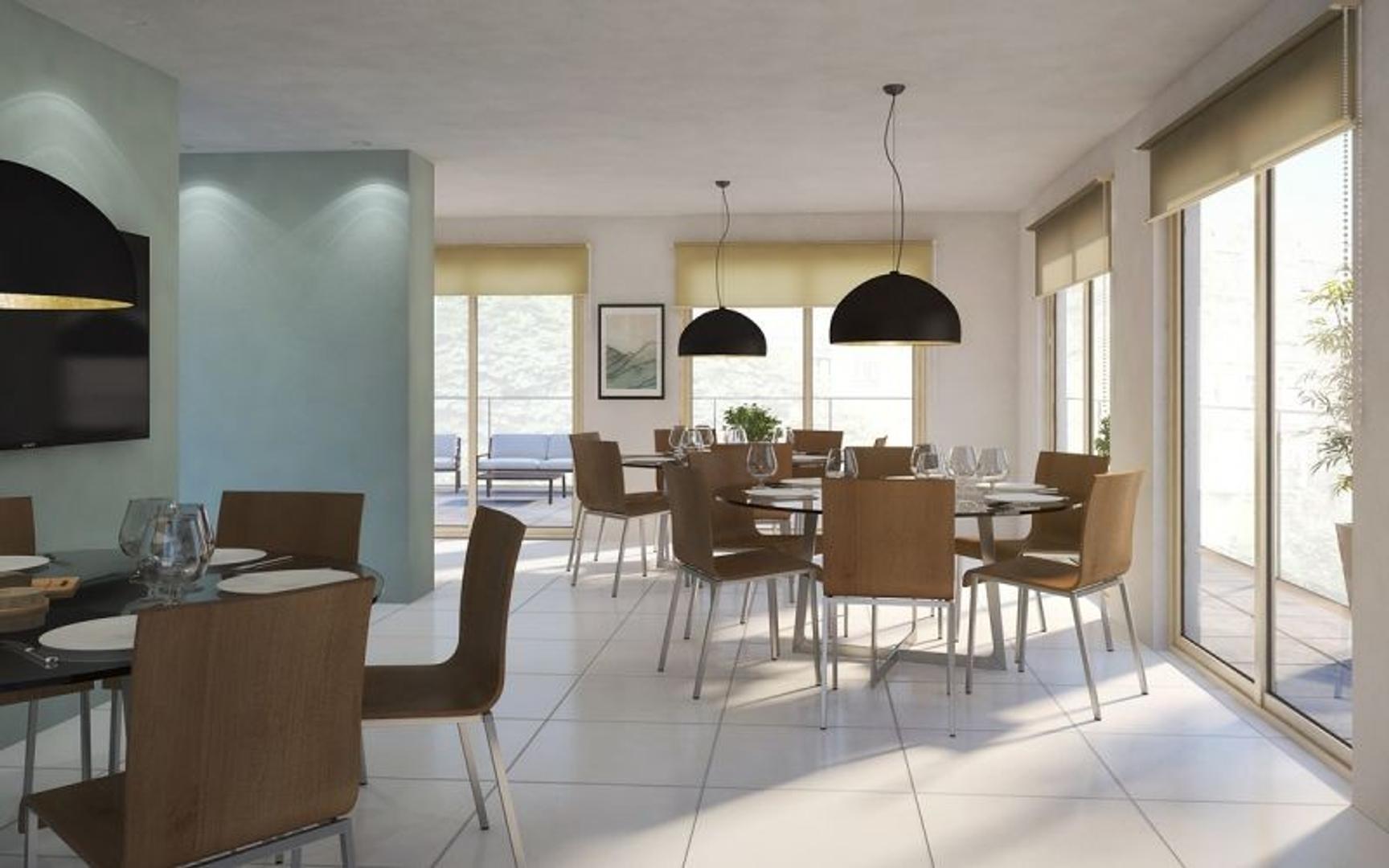 Departamento - 54 m² | 2 dormitorios | Contrafrente