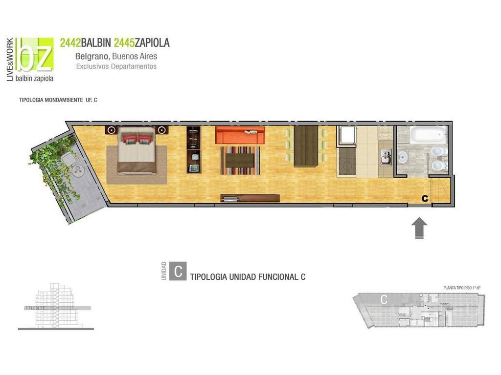 Departamento en Balbin 2442 en venta