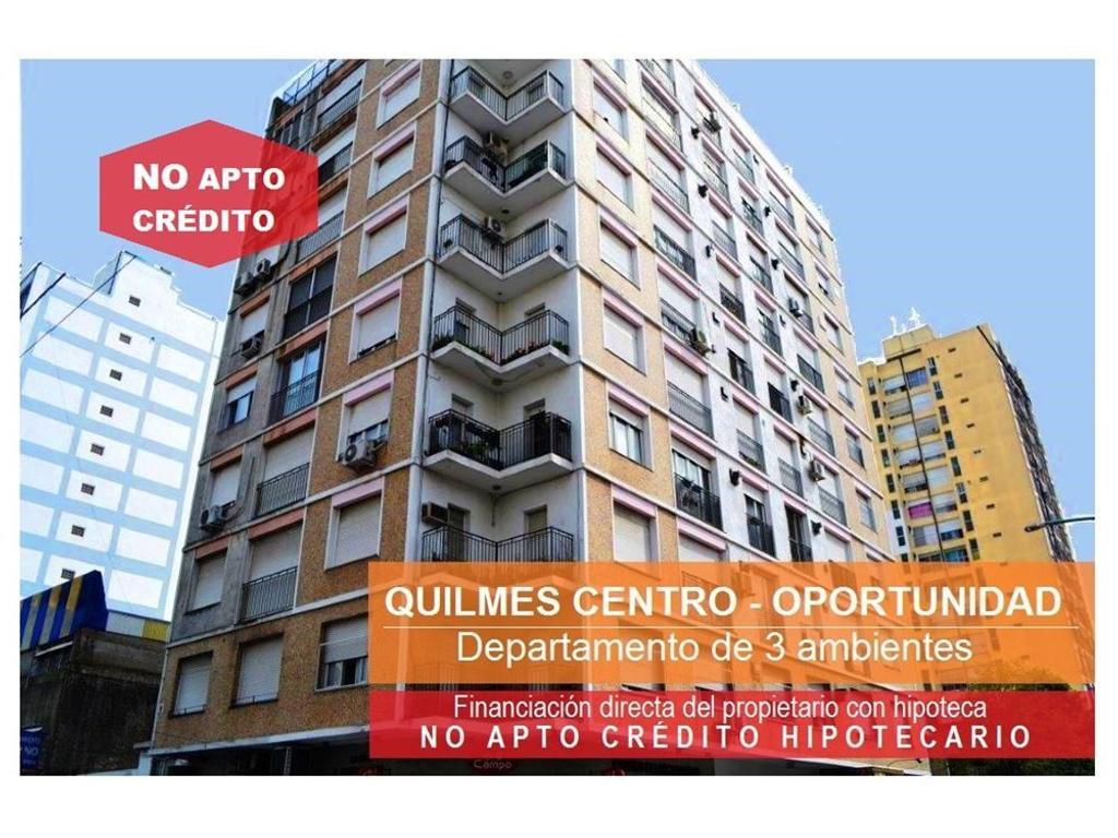 DEPARTAMENTO Quilmes Centro -  3 Ambientes