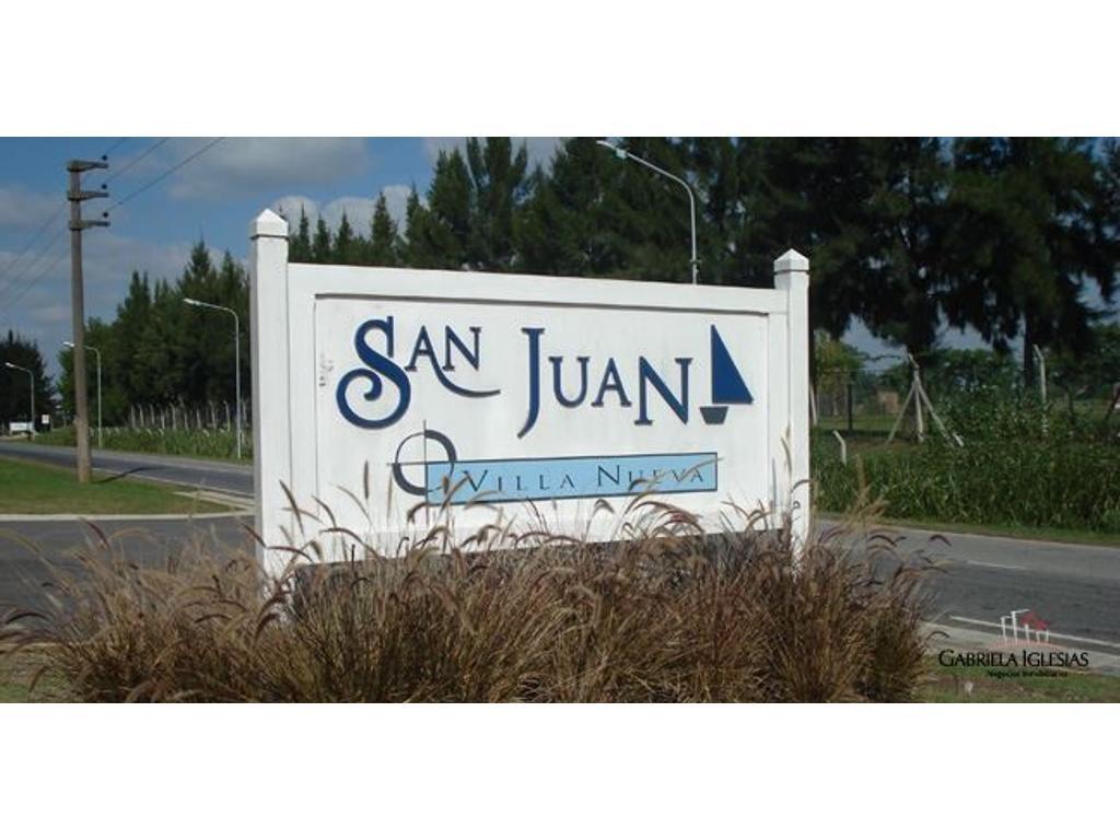 SUSANA ARAVENA PROPIEDADES DS, VENDE LOTE EN BARRIO SAN JUAN, VILLA NUEVA