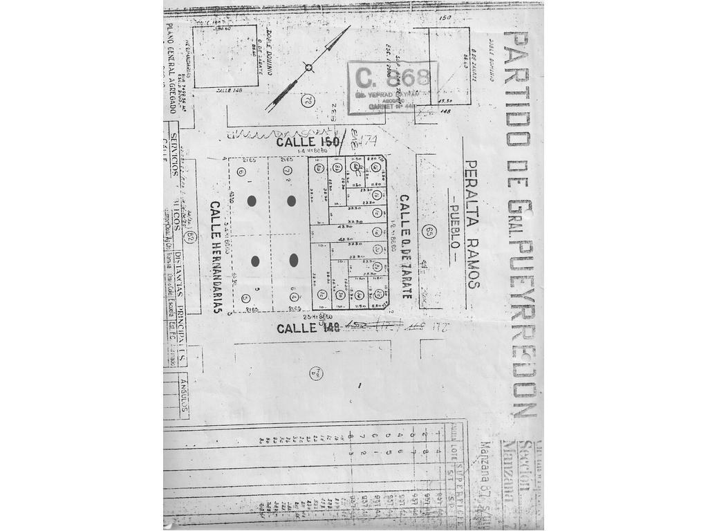Terreno - Hernandarias entre Ratery y República de Cuba - 3750 m2 - IDEAL GALPONES