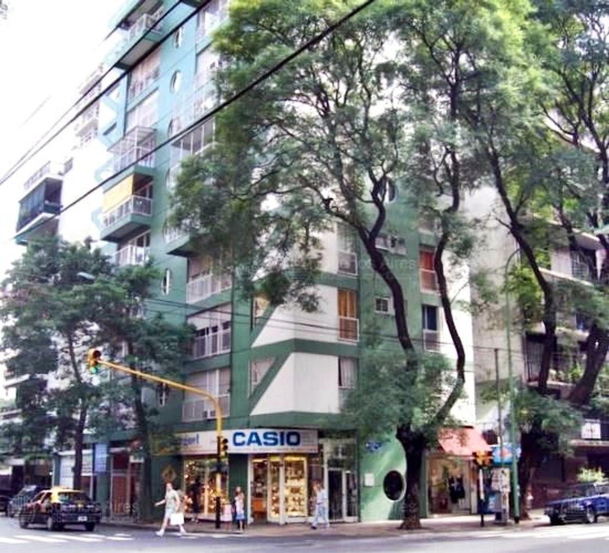 Palermo venta apto credito 3 ambientes en piso 14 con vista abierta reciclado luminoso pileta