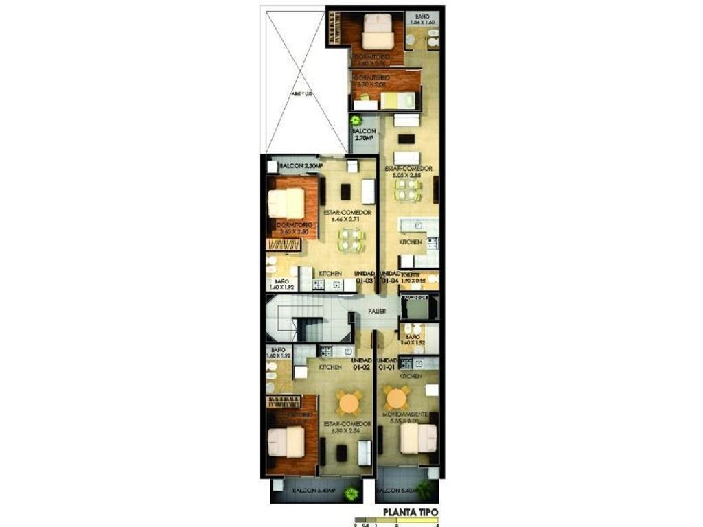 Un dormitorio Tucuman 3400, en cosntruccion!