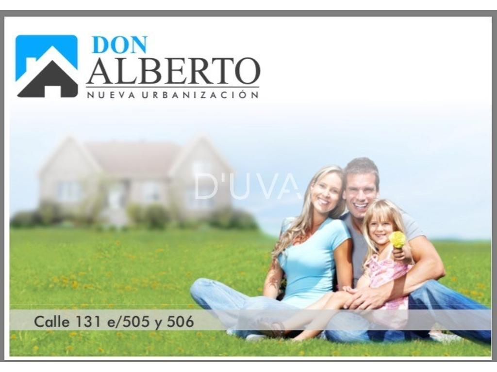 Calle 132 esq. 506 - Barrio Don Alberto
