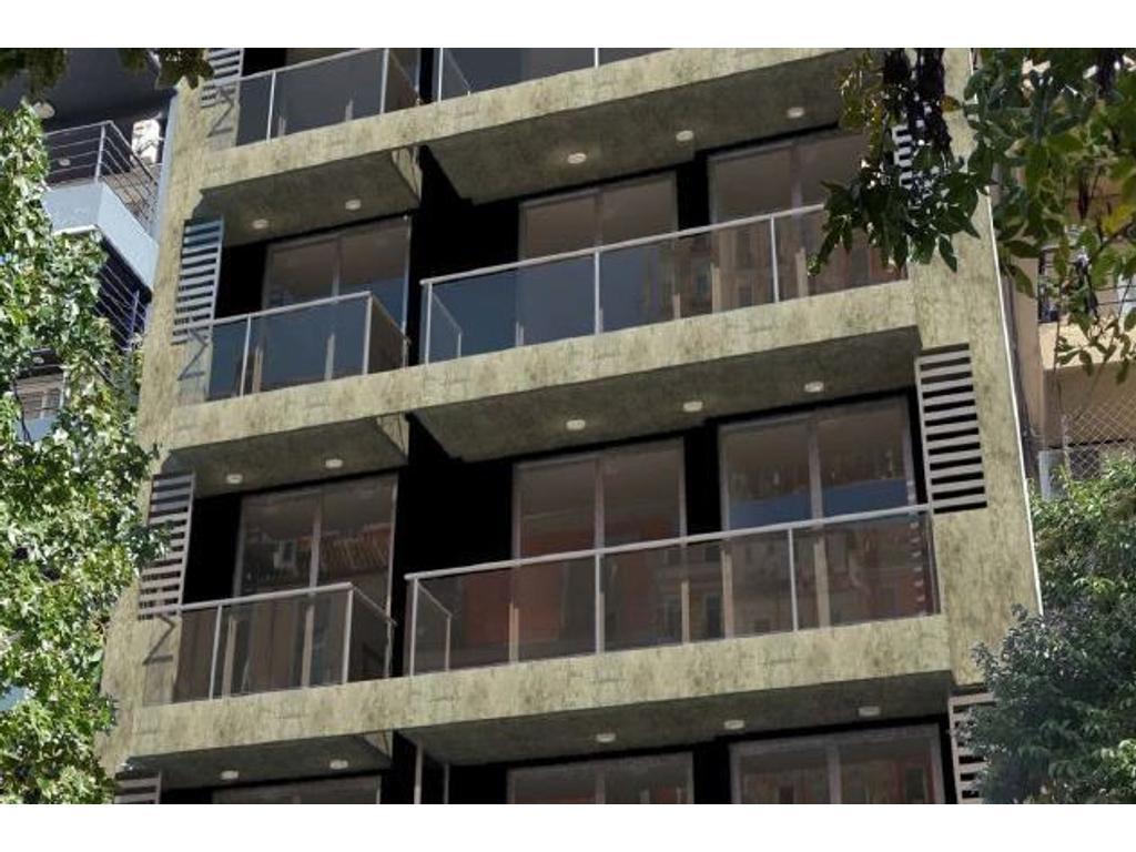 Departamento 2 dormitorios a la venta en Rosario. Pueyrredon 1200. Entrega Julio 2018.