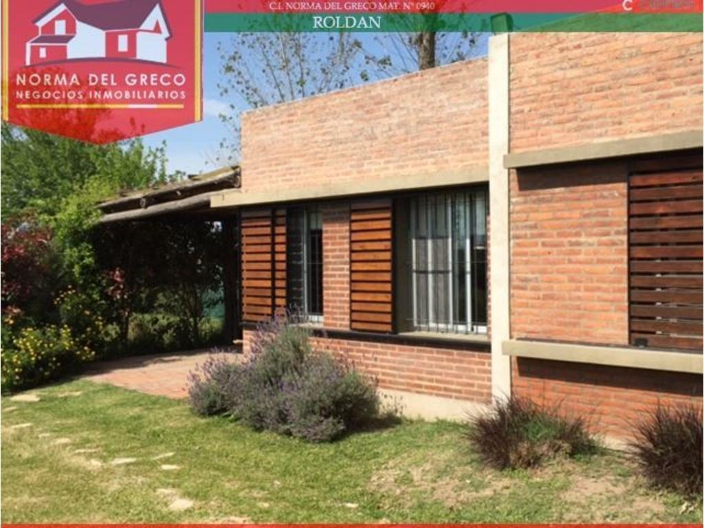 Hermosa Casa de 2 Dormitorios en Roldán - Querandíes 1100