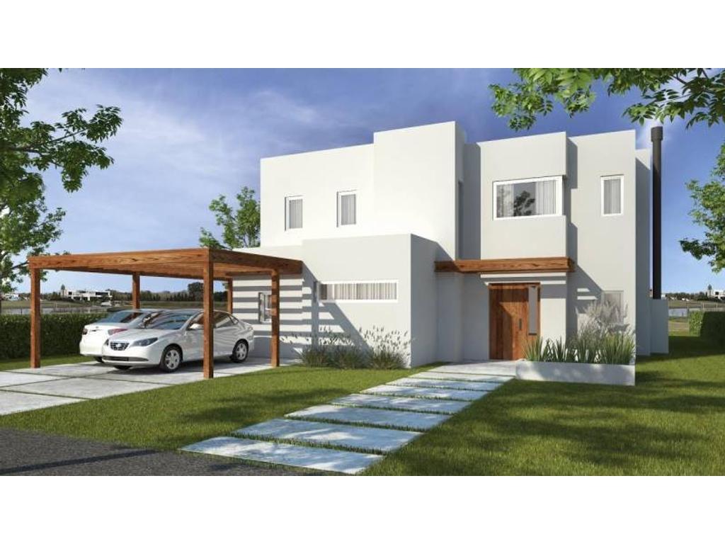 Casa a la laguna a la venta en el barrio san Rafael Villa Nueva Tigre