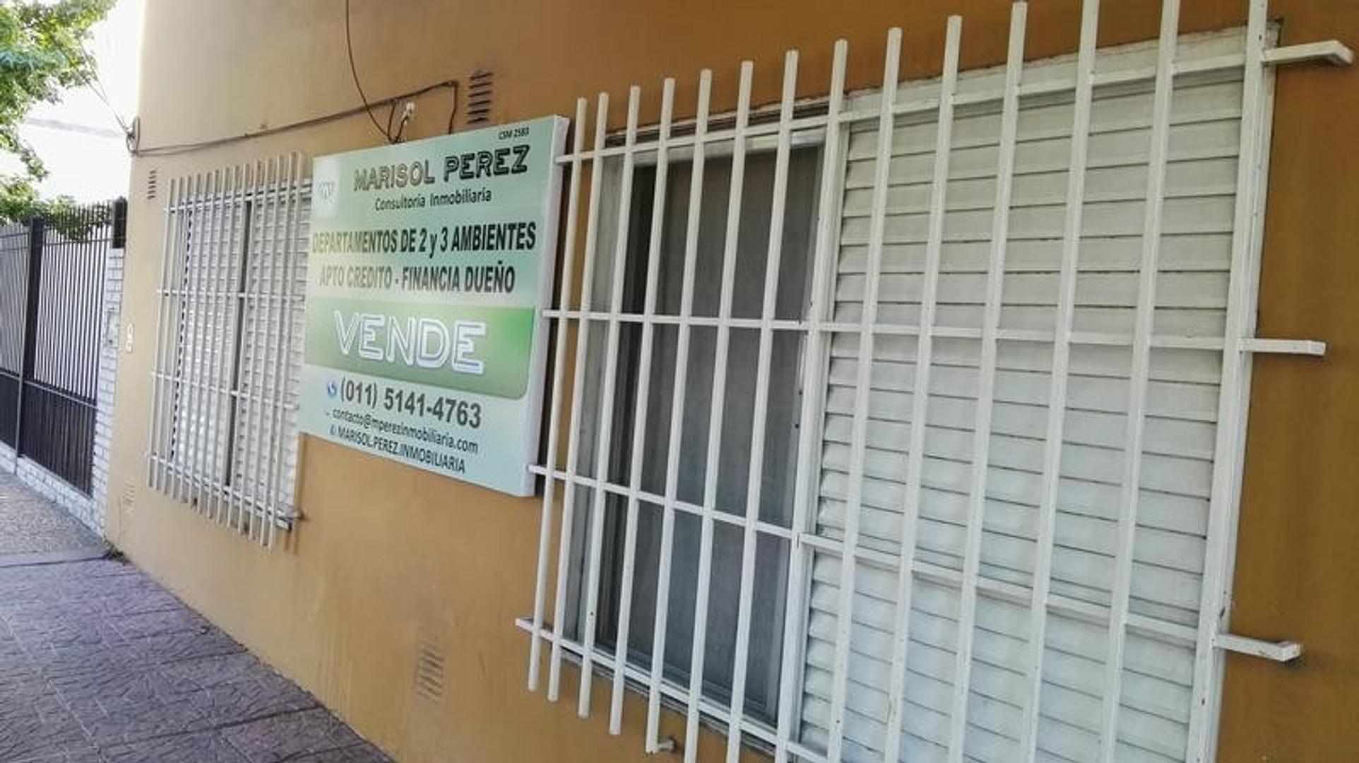 Departamento 3 ambientes - 57m2 - 1ªPiso FRENTE - Centro (Moreno)