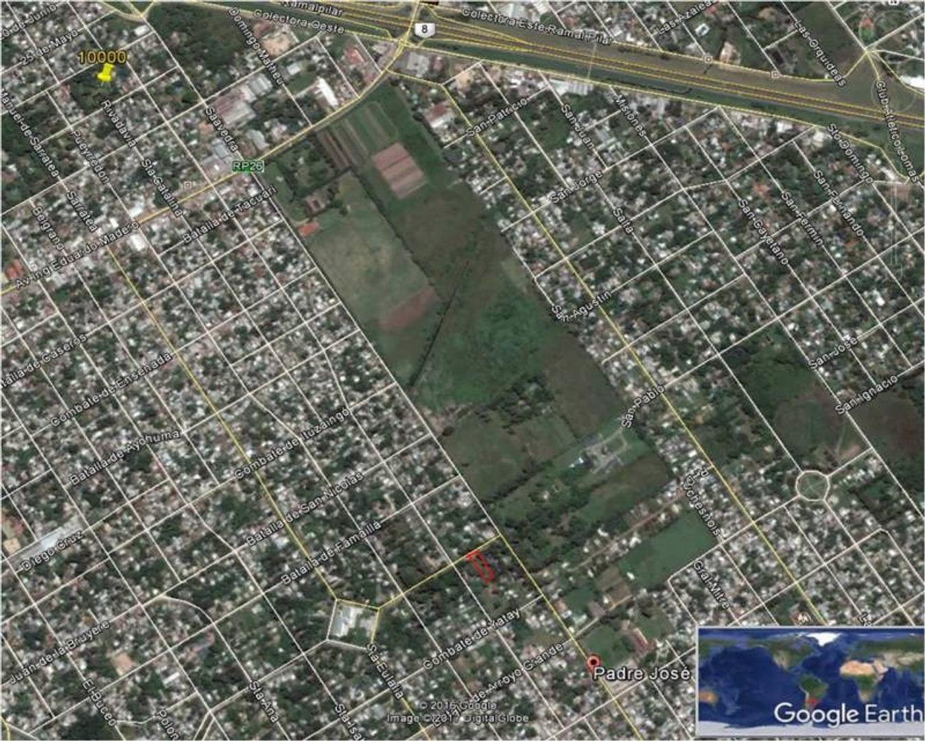 Venta de Lote en Calle Roqueta Zona Del Viso, Zona Pilar, Buenos Aires, Argentina