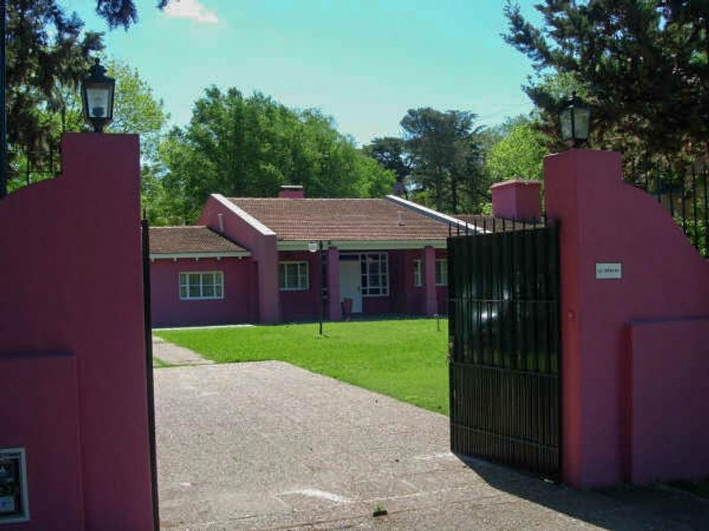 Quinta de 1 hectárea en Maschwitz-Oportunidad Lote-Barrio con vigilancia 24-Vende dueño directo.