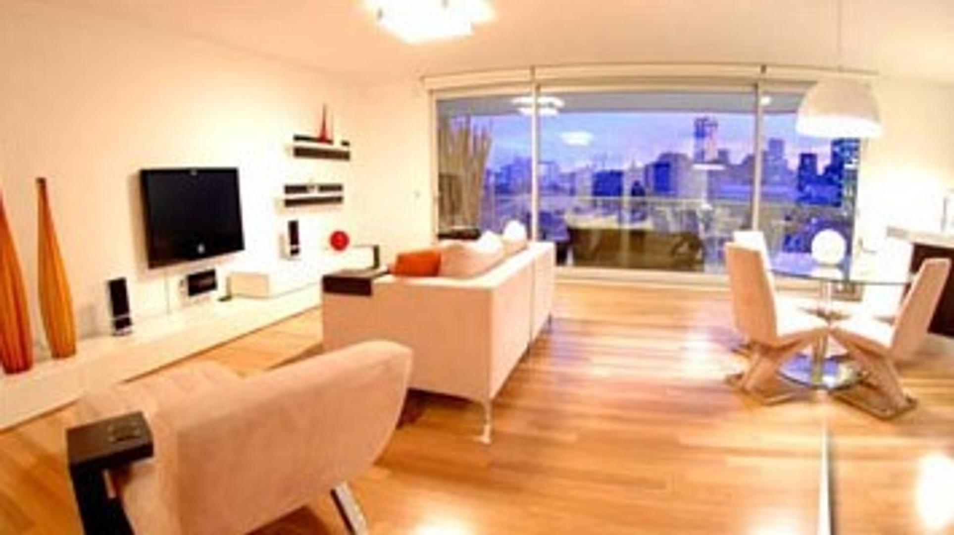 INCREIBLE! 2 suites! Balcón aterrazado con vista al dique! AMOB Y EQUIPADO! COCH!
