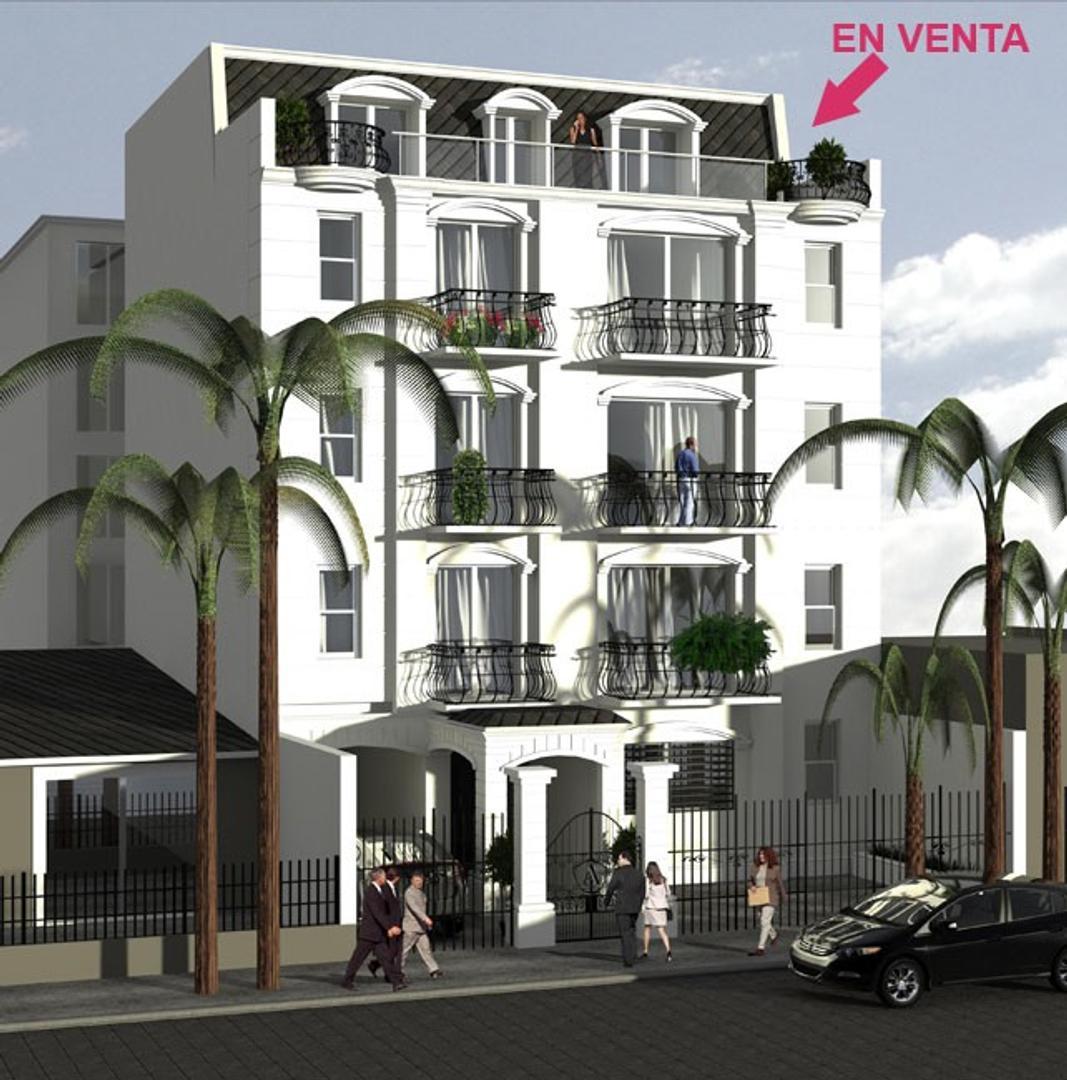 Excelente departamento de 2 ambientes A ESTRENAR con cochera fija cubierta y gran balcón aterrazado