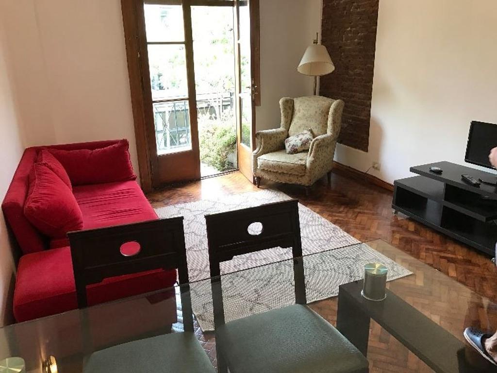 Depto 3 amb. c/ balcón y 2 baños en pleno Palermo Soho
