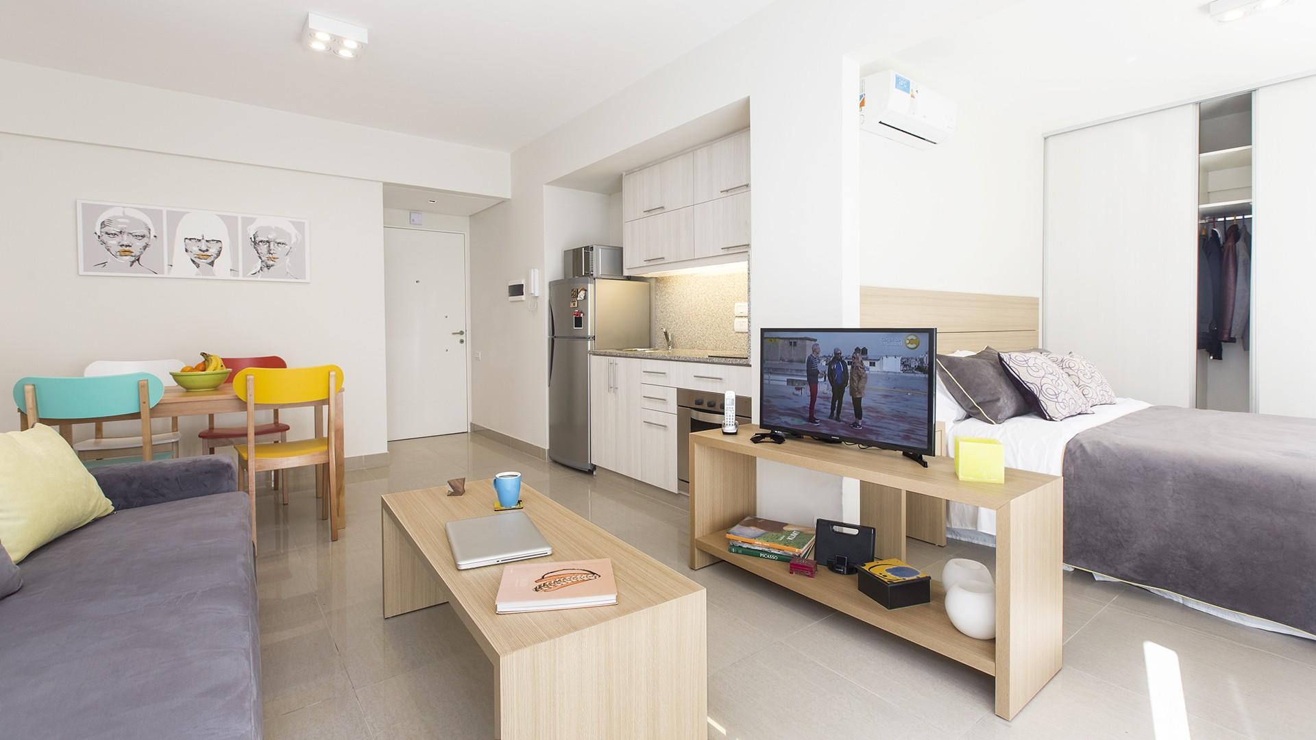 Dos ambientes integrado en Alto Palermo