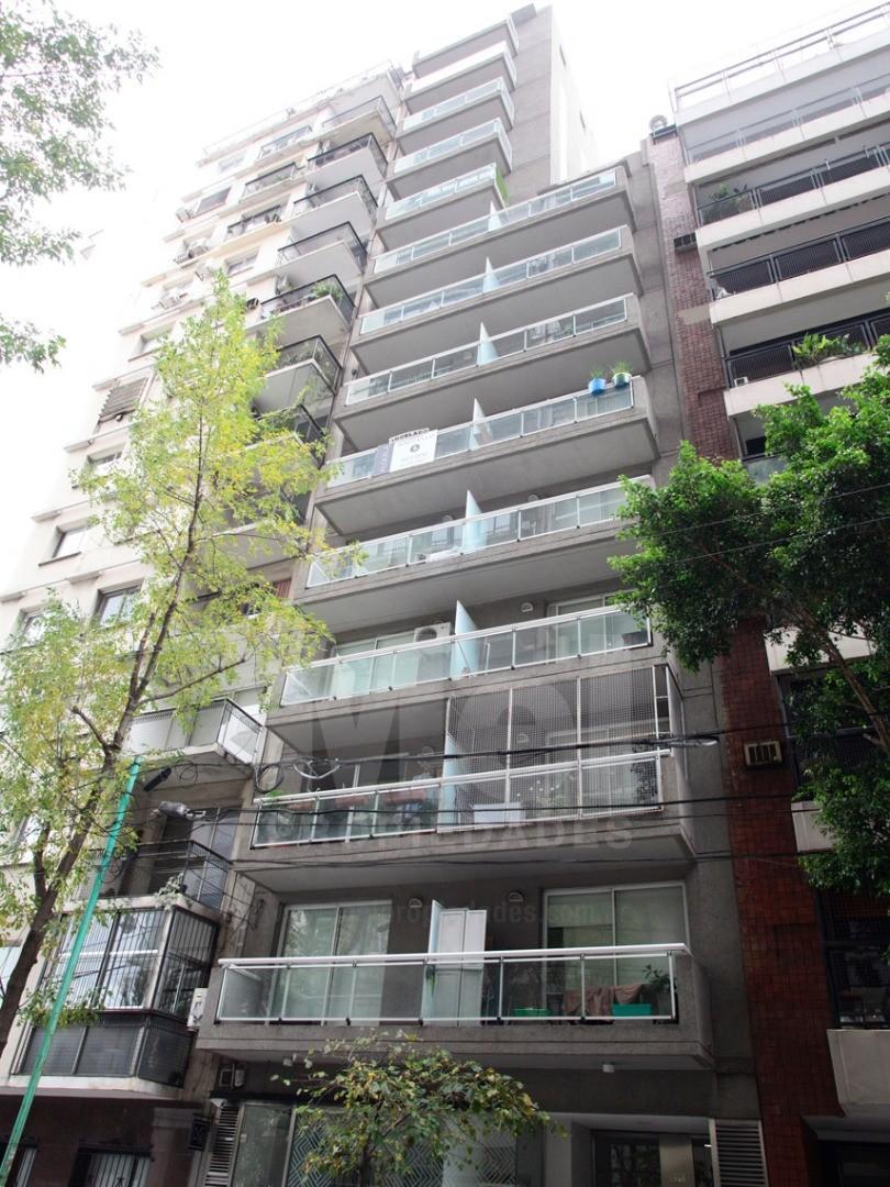 Excelente 2 ambientes al frente con baulera en excelente ubicación de Belgrano