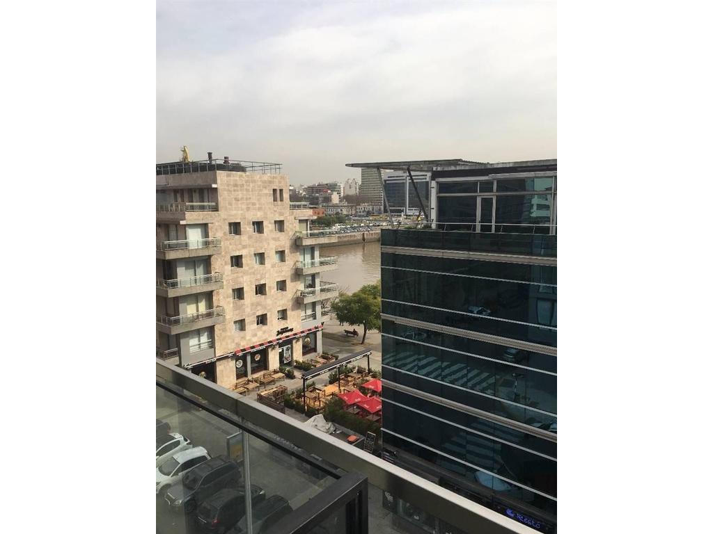 2 ambientes a estrenar, Edificio Lumiere Puerto Madero, incluye cochera