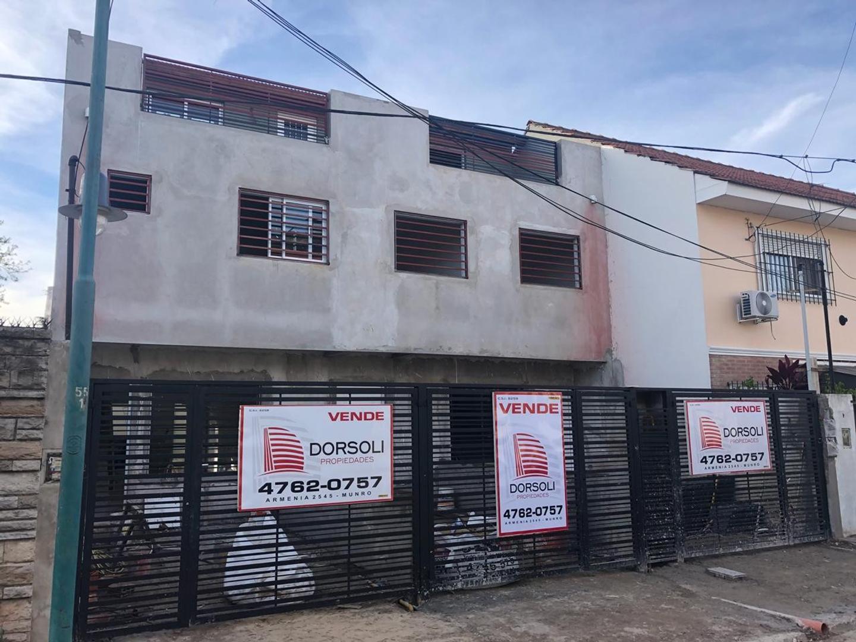 -RESERVADO-EXCELENTE DUPLEX DE 3 AMBIENTES EN CONSTRUCCIÓN !