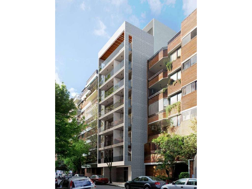 Ambiente Único. Edificio Amenabar 2879. Living/Comedor. Entre medianeras. Al frente. A estrenar.