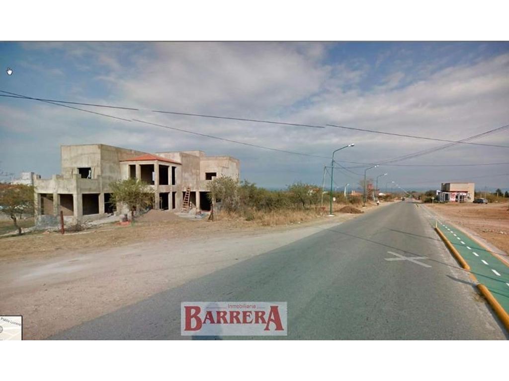 Locales en construcción y vivenda en P. A. Sobre Av. San Martín, Barranca Colorada, Merlo San Luis