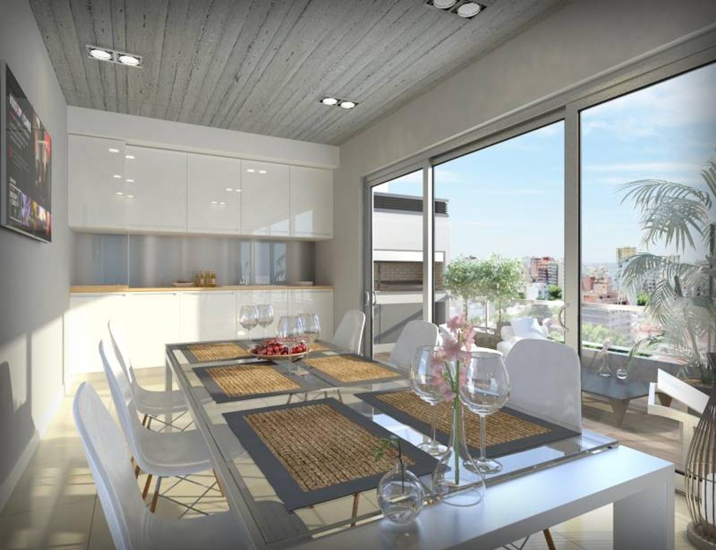 A ESTRENAR 1 amb *ecofriendly* al fte c/ balcon y amenities - WASHINGTON 1A