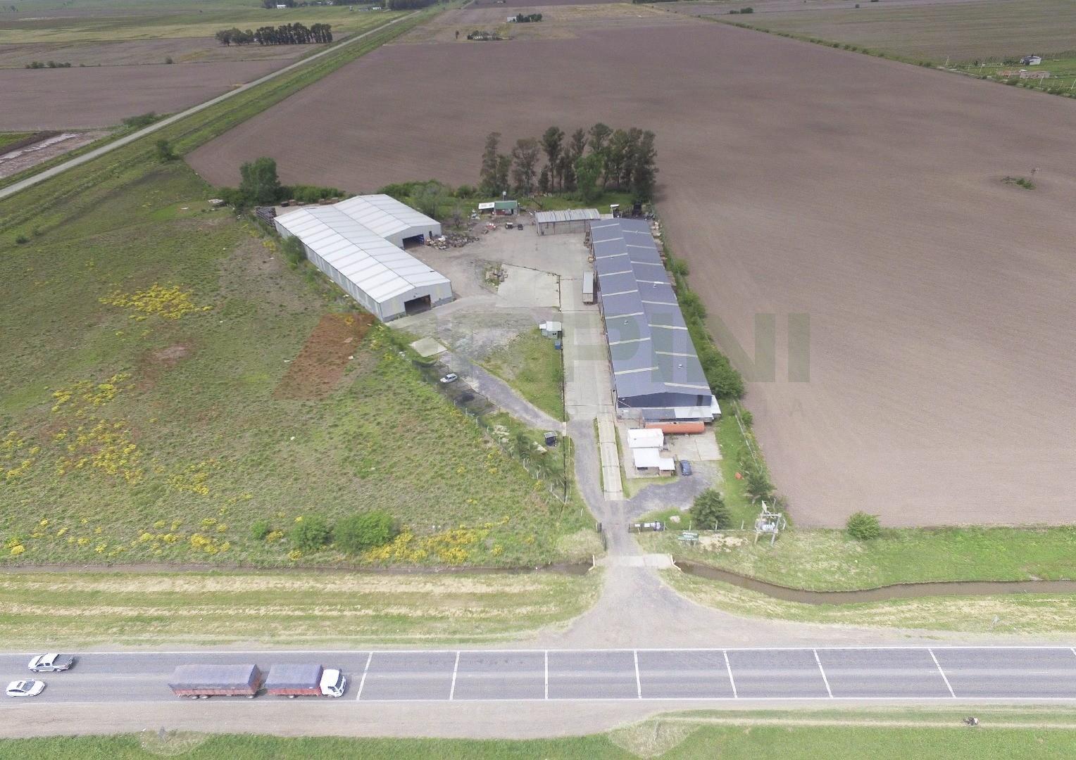 Planta Industrial en venta sobre Ruta A012 a 1.000 metros de Ruta 18 y a 8 Km de General Motors