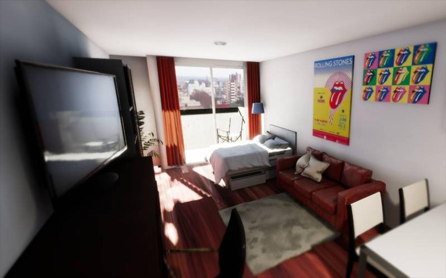 Monambientes Gigantes Divisibles a 1 Dormitorio