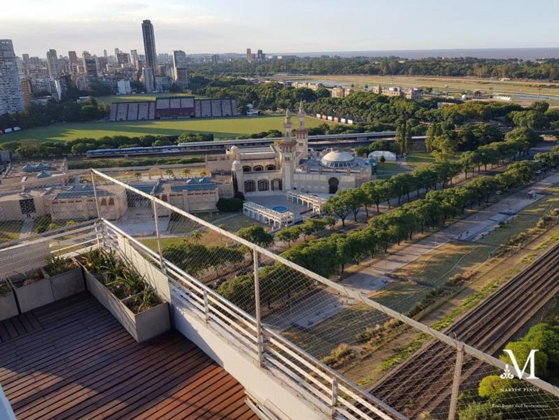 Penthouse 5 amb 2 coch Amenities -Vista Río -Torre Cerviño Nuevo-Palermo