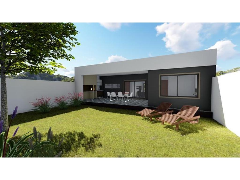Casa en construcción de 2 dormitorios opcion 3 - Entrega en Marzo 2018