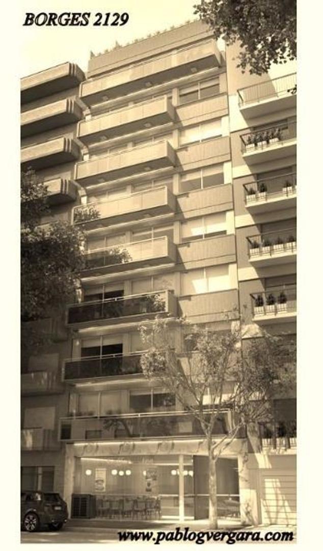 BORGES 2100 piso 1 A, Palermo Soho. 3 ambientes. Financiación