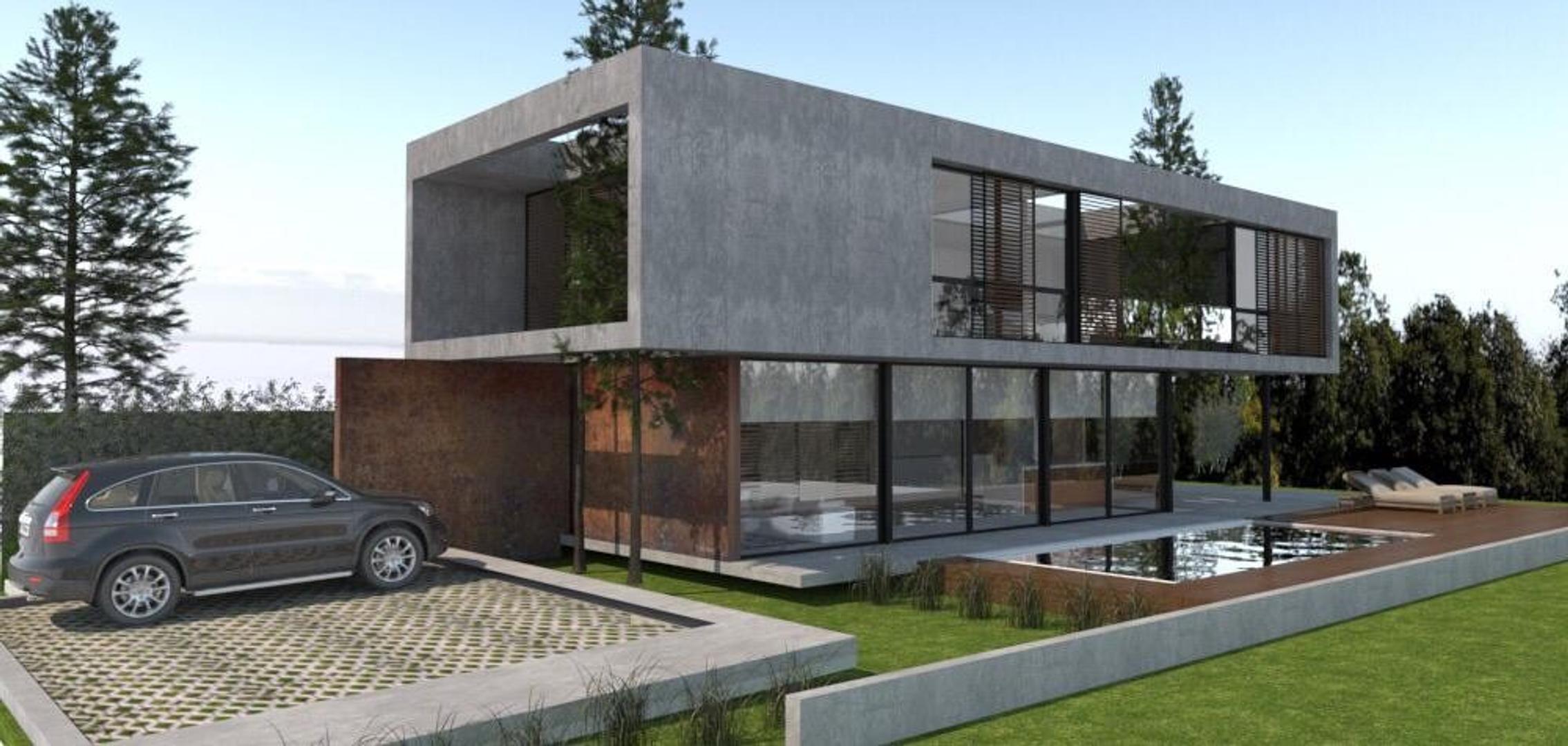Casa a estrenar en el bosque Peralta Ramos de diseño y calidad superior.