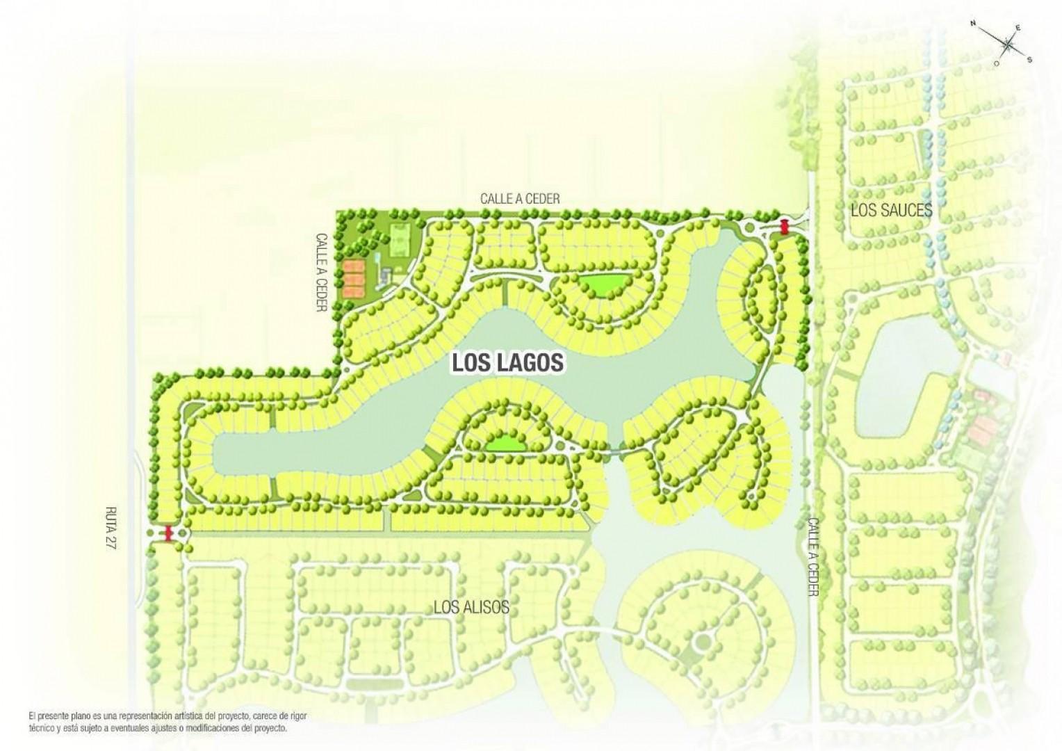 Lote al agua en Los Lagos