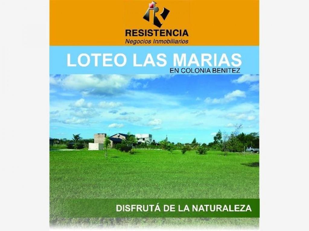 "Loteo ""Las Marias"", Colonia Benitez"