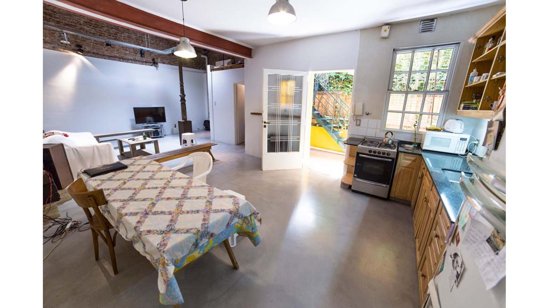 Gran PH tipo loft c/1 dormtorio en suite, o Exclusiva Oficina en Palermo Hollywood