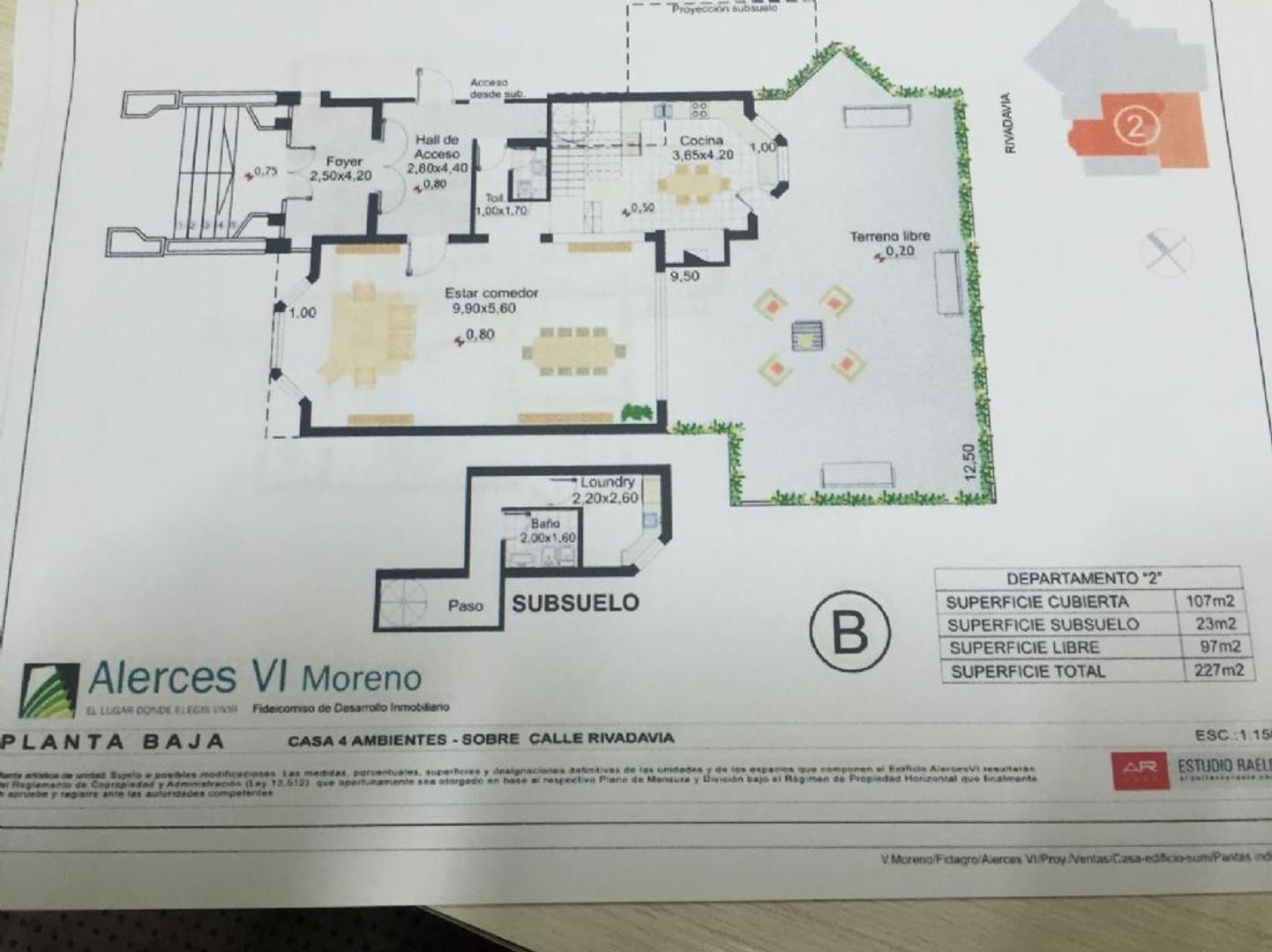 Casa  en Venta ubicado en Moreno, Zona Oeste - OES0730_LP109827_1
