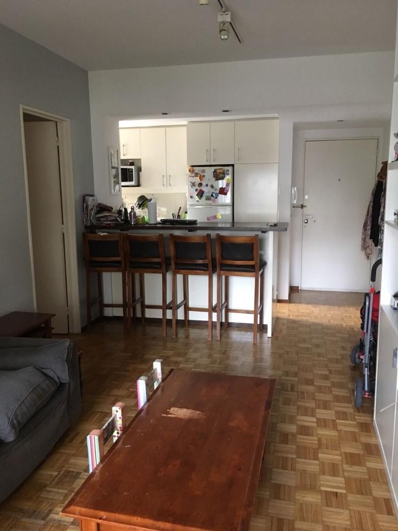 Muy lindo departamento 3 ambientes con toilette y cocina integrada. APTO CREDITO BANCARIO