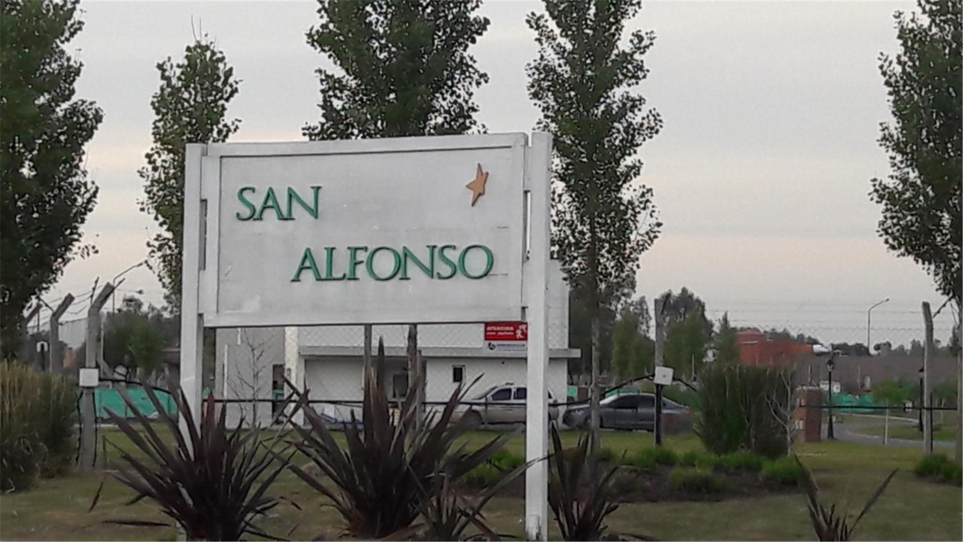 LOTE EN BARRIO SAN ALFONSO PILAR DEL ESTE