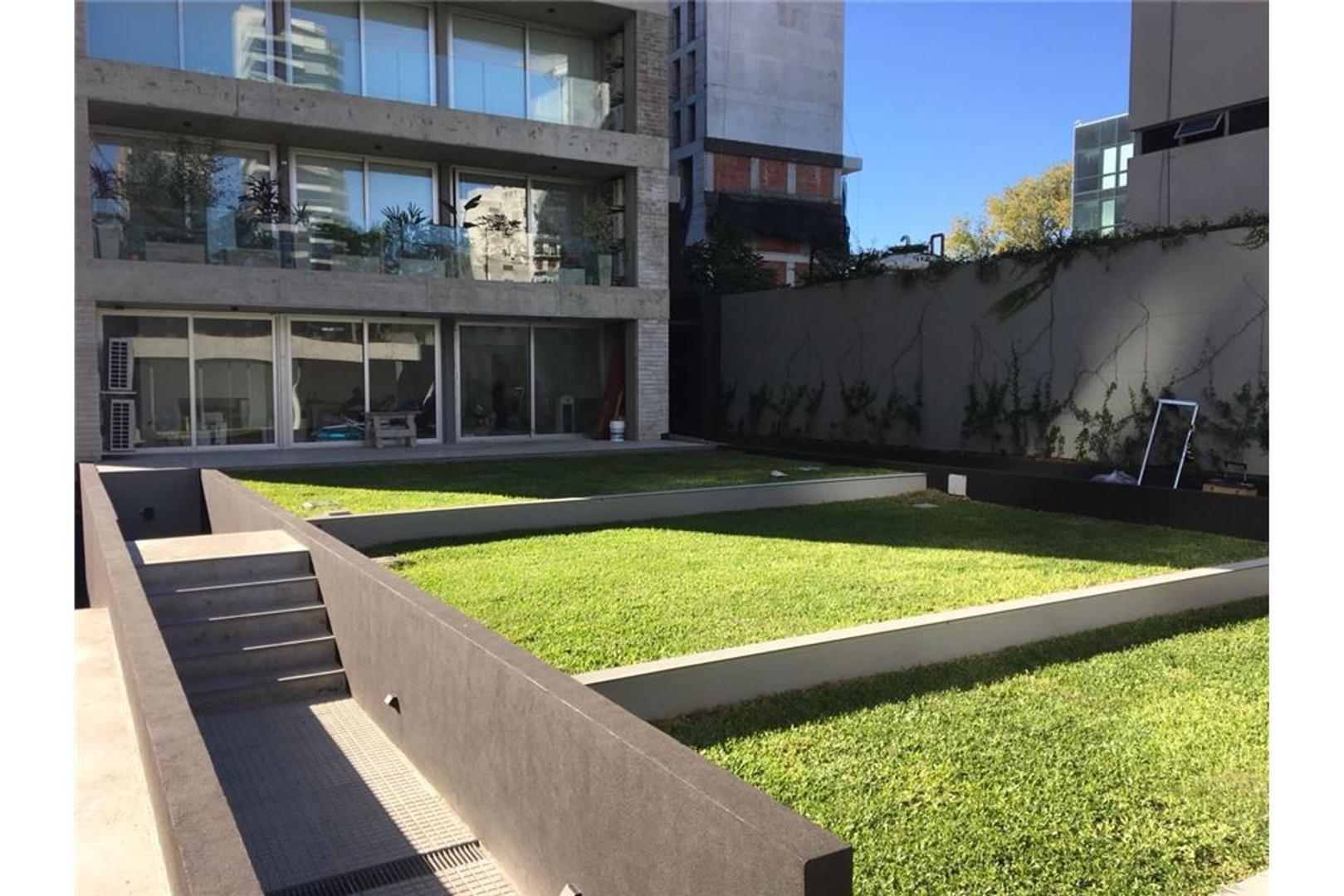 Monoambiente c/ balcón, vista verde, cochera cub.