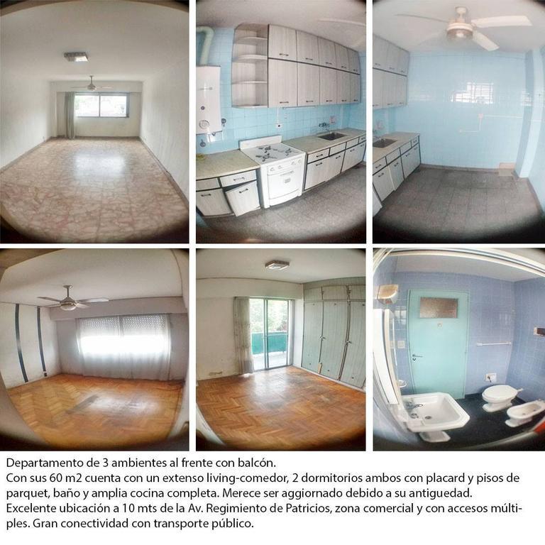 Departamento en Venta de 3 ambientes en Capital Federal, Boca