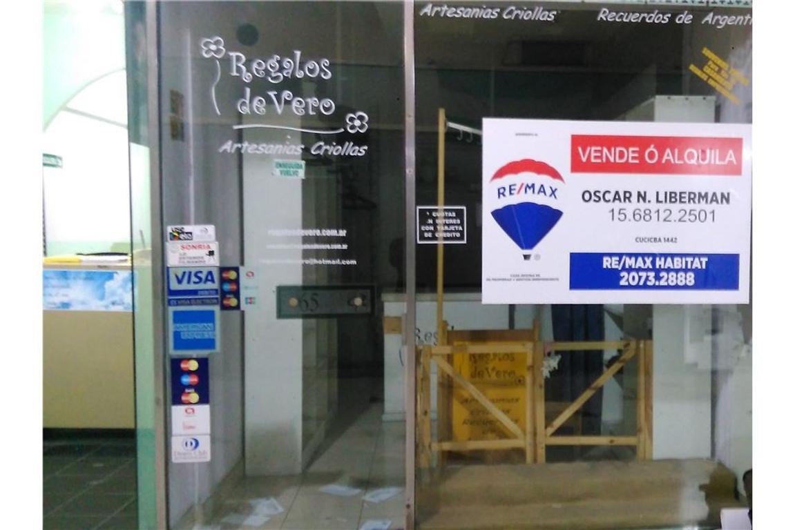 Alquiler Local Galeria Rustique (Retiro/Recoleta)