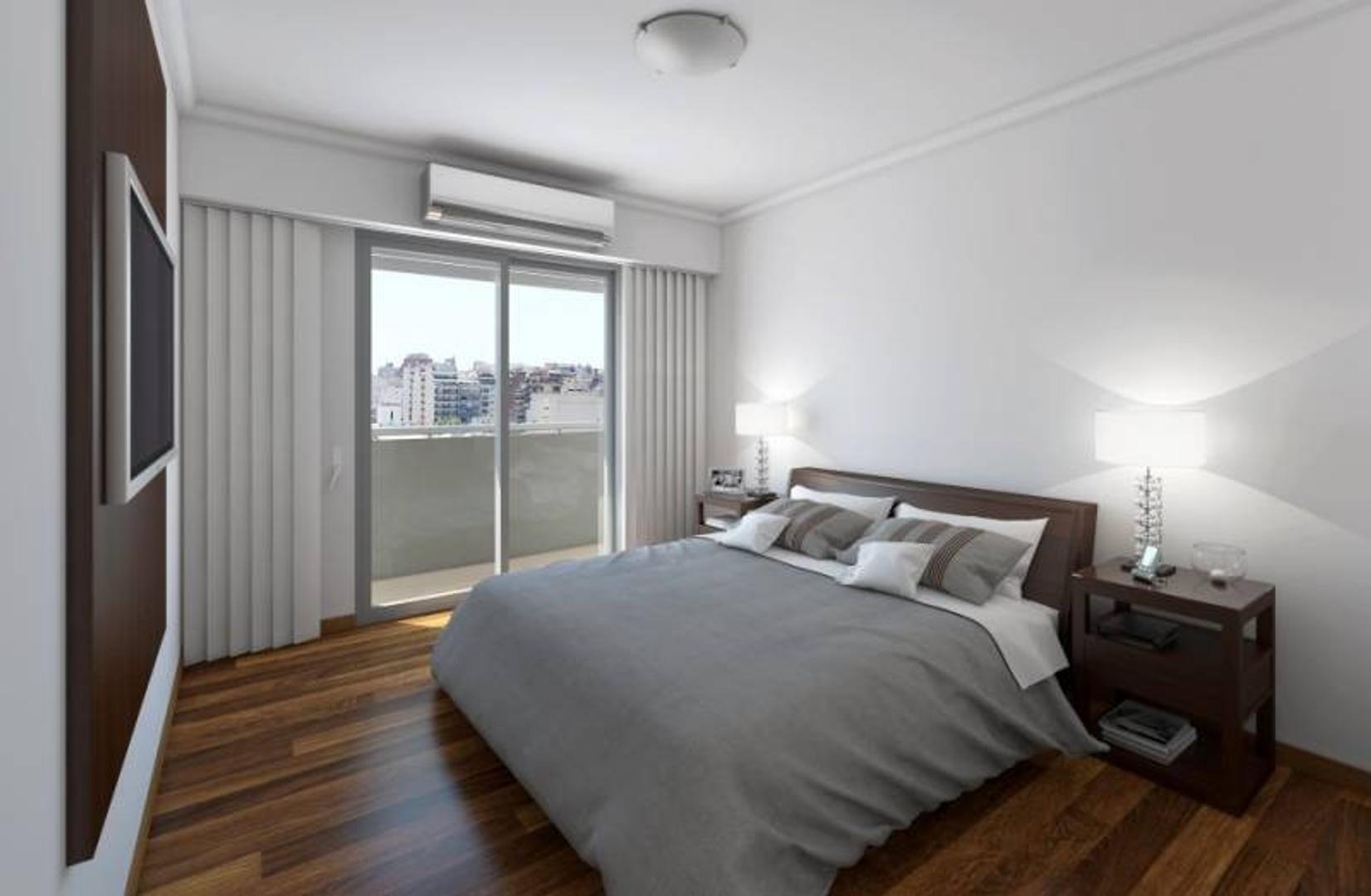 1 Dormitorio - Centro de Rosario