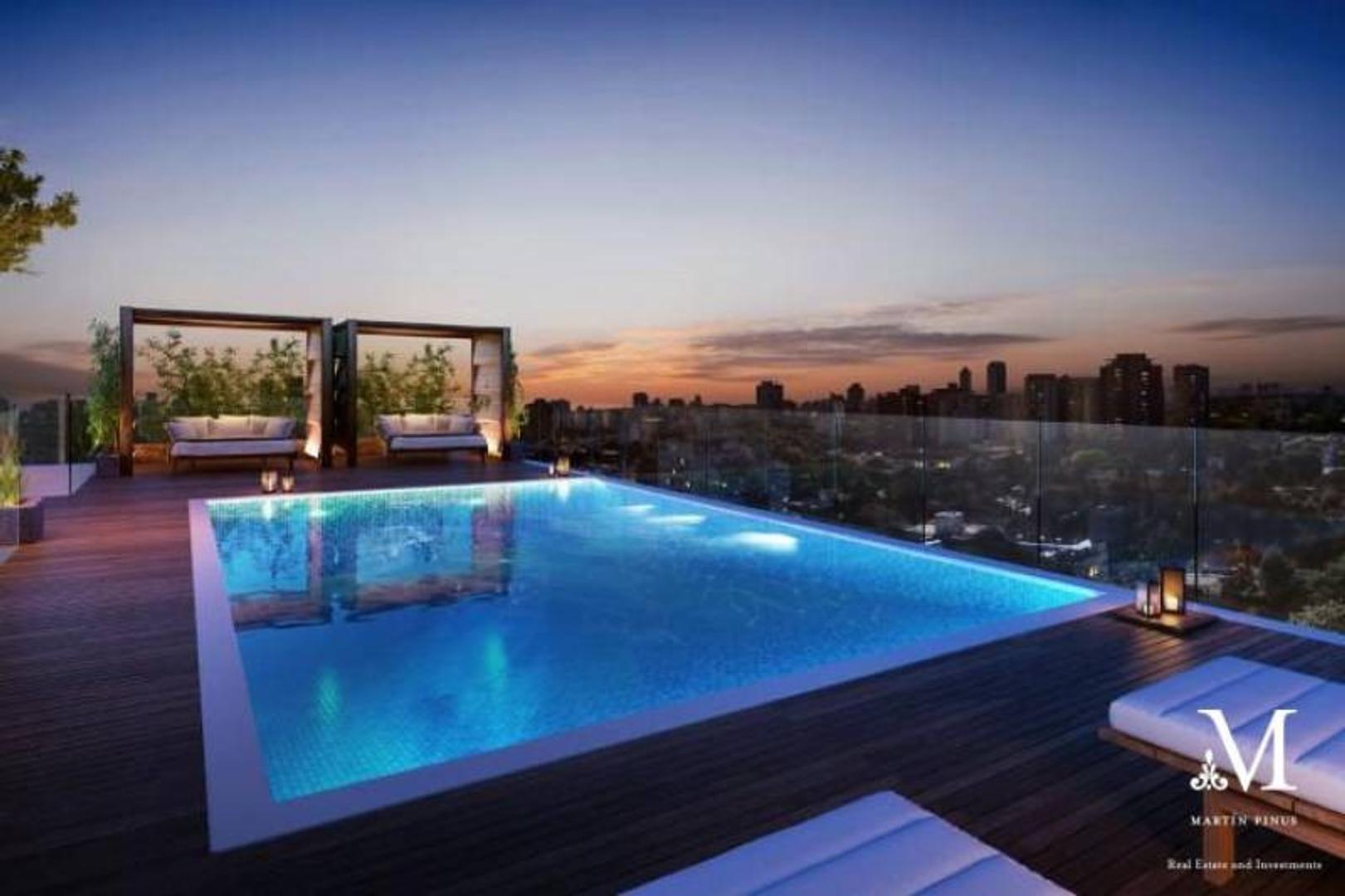 PALERMO CHICO - TORRE BOSCHETTO SEGUI - 4 AMB con terraza 20 m2