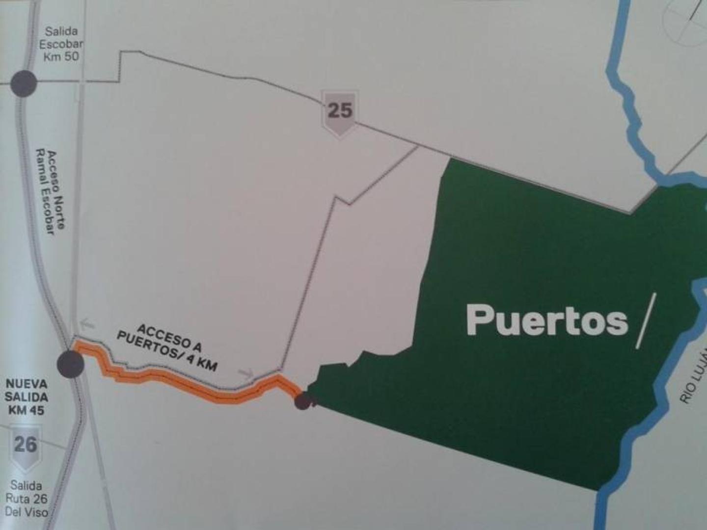 PUERTOS - BARRIO VISTAS - RAMAL ESCOBAR KM 45 - LOTE 163 - 100
