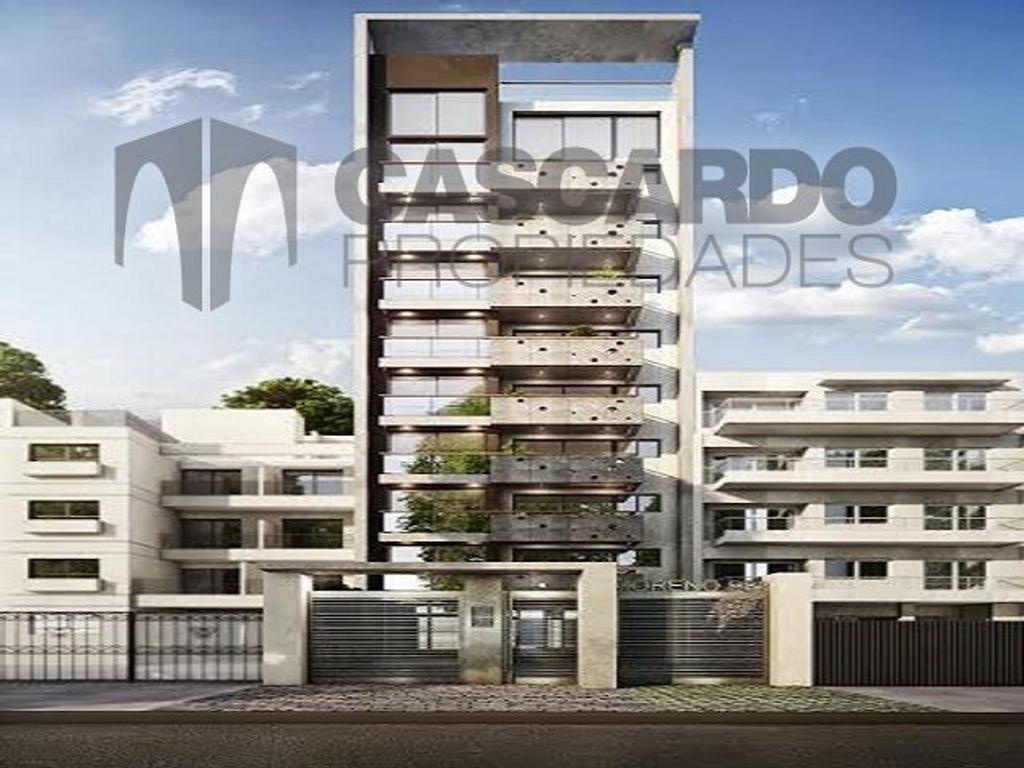 Edificio en construccion Semipisos de 2 ambientes y duplex de 3 ambientes en ultimo piso.