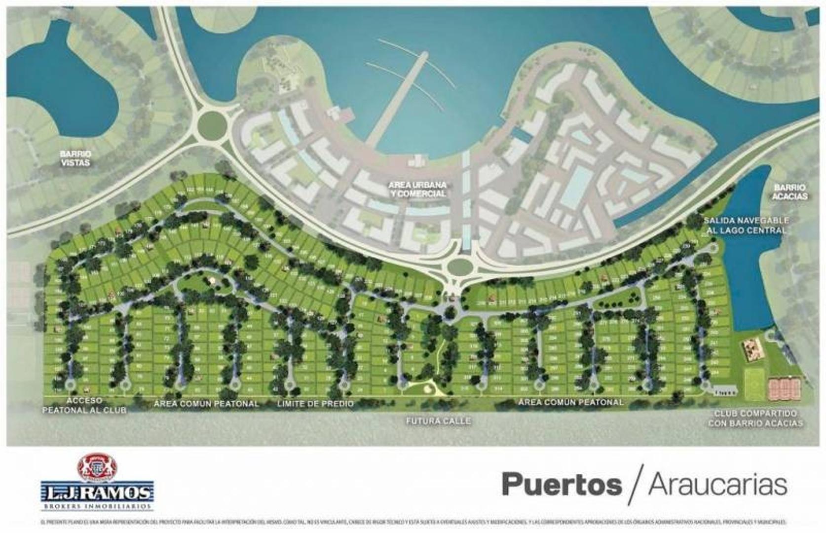 PUERTOS - BARRIO ARAUCAURIAS - RAMAL ESCOBAR KM 45 - LOTE 163 - 100