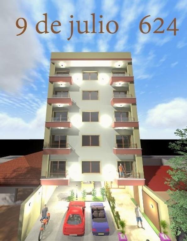 DEPARTAMENTOS EN POZO MORON 2 Y 3 AMB EN 9 DE JULIO AL 600 A ESTRENAR